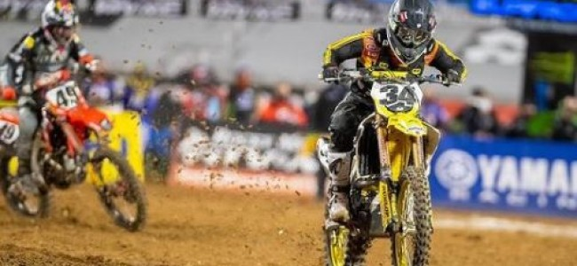 Anstie on his first ever 450 main event – was a dream!