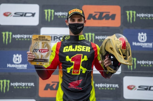 Interview: Tim Gajser –  looking forward to 2021