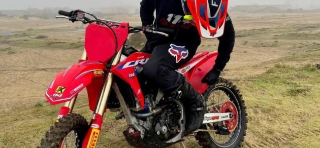 Joel Rizzi on his MX2 World Championship challenge: Wants to be a prodigy of Honda