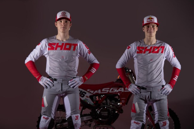 Shot and DIGA Procross GasGas Factory Racing join forces