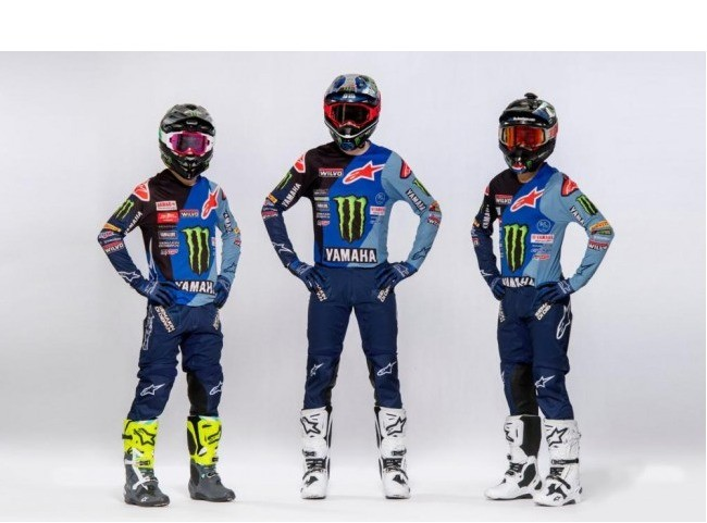 Revealed: Monster Energy Yamaha Factory MXGP Team – 2021 Colourway