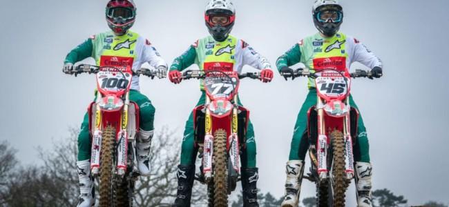 Crendon Fastrack Honda reveals 2021 team colours