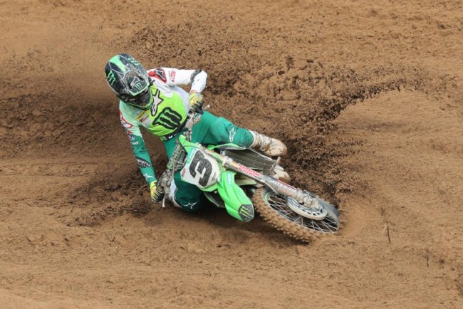Febvre on a decent day at Alghero while Monticelli shows speed