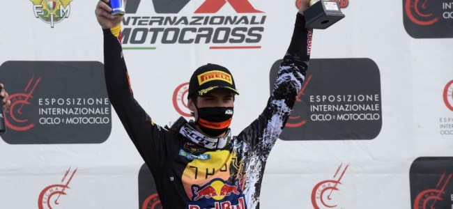 Prado opens 2021 with moto win while Guadagnini makes Factory debut
