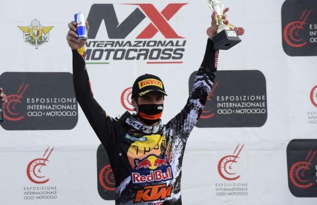 Prado opens 2021 with moto win while Guadagnini makes Factory debut