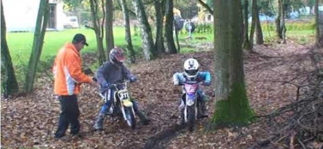 Video: A young Liam Everts practicing his starts!