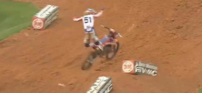 Barcia down hard as Tomac and Anderson win Atlanta heats