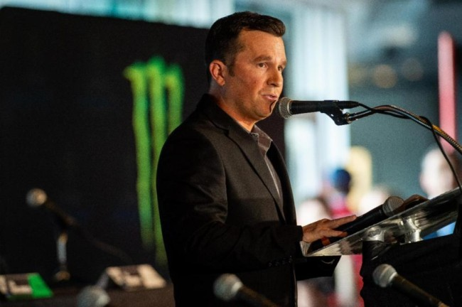 Daniel Blair lead commentator for supercross this weekend!
