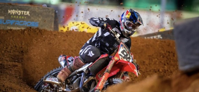 Roczen on the crash and Webb's pass