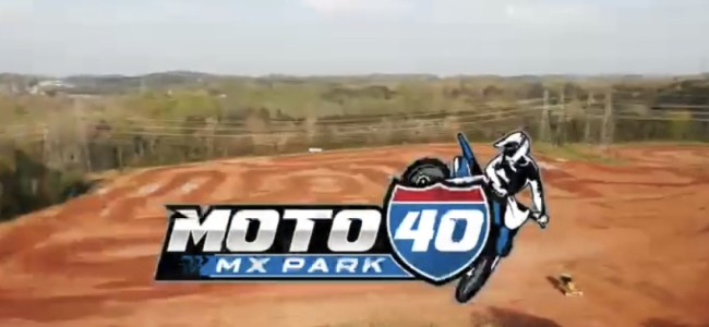 Chad Reed show off his new practice facility