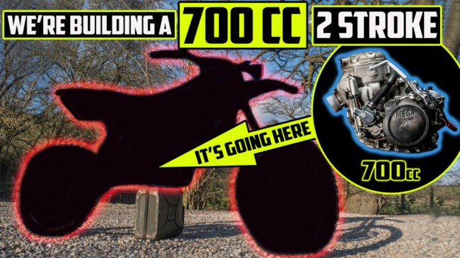Video: Building a 700cc two stroke – Project 700 EP1