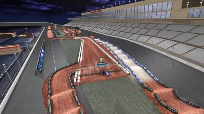 Video: Atlanta 3 track map