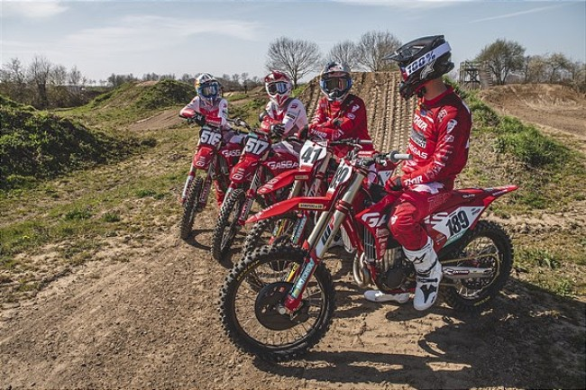 Exciting Factory GasGas rider line up eye up start of MXGP season