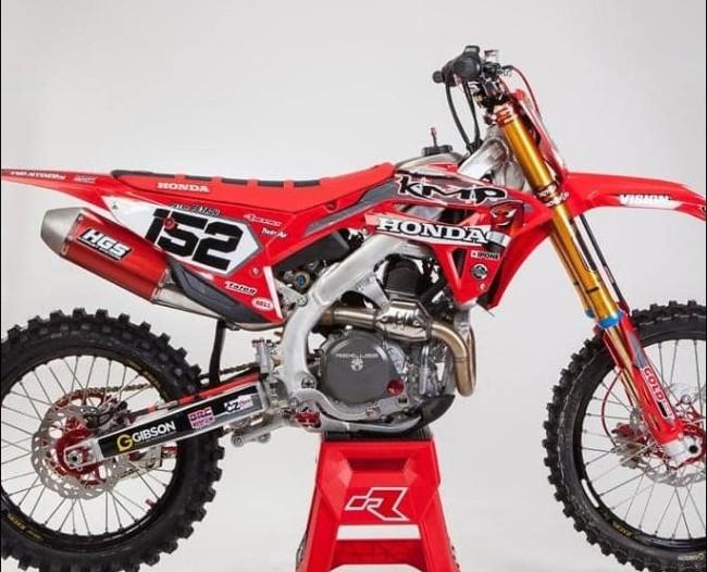 First look: Petar Petrov's KMP Honda