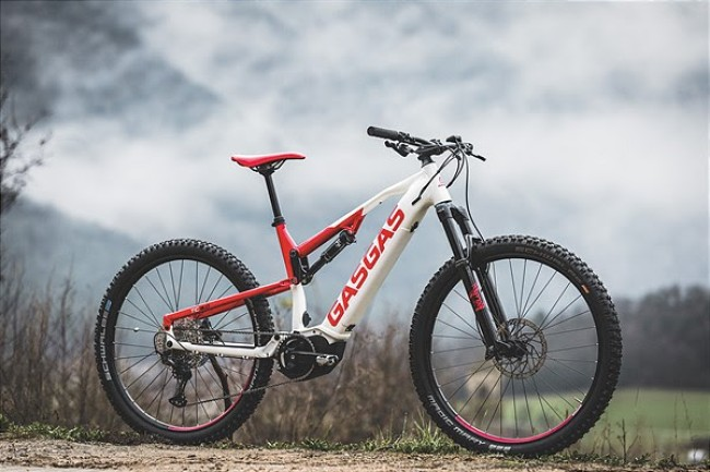 Gas Gas reveal E-MTB range