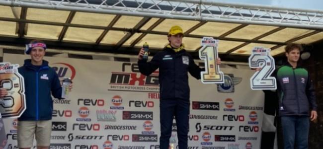 John Adamson on his British MX2 podium: It's what we've been working for!