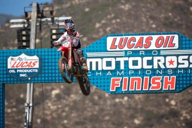 Jett Lawrence on his win at Pala