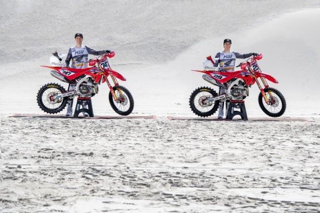 JM Racing Honda intent on making big strides in MXGP