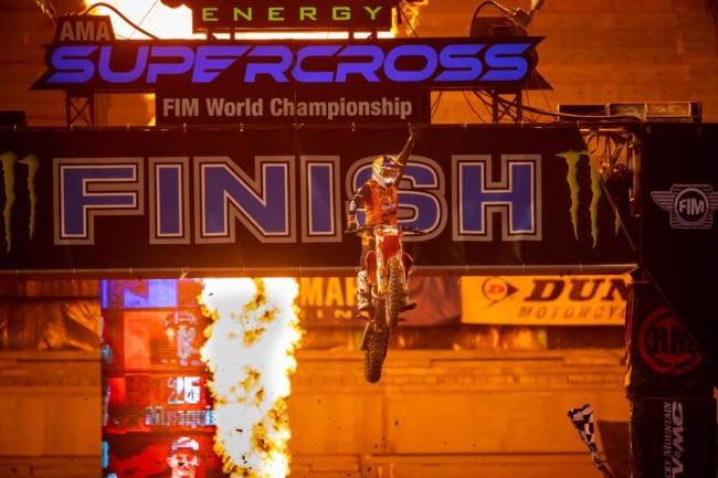 Webb on his title winning supercross season – Daytona stamped it!