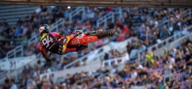 Roczen and the Lawrence brothers on Salt Lake City 2