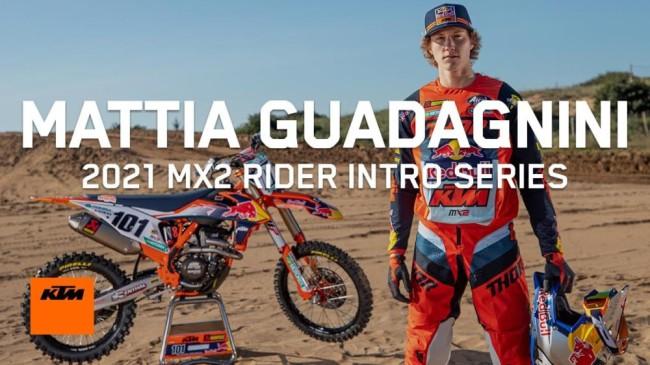 Video: Introducing Mattia Guadagnini – MX2 prep!