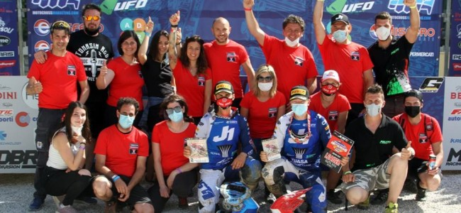 Double podium for SM Action GasGas in Montevarchi – Adamo and Horgmo shine