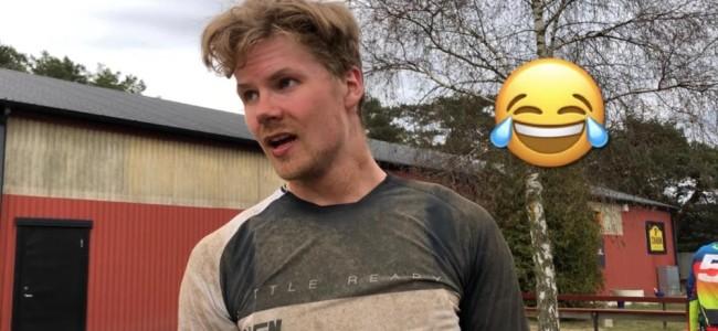 Video: Miro Sihvonen – race action in Sweden