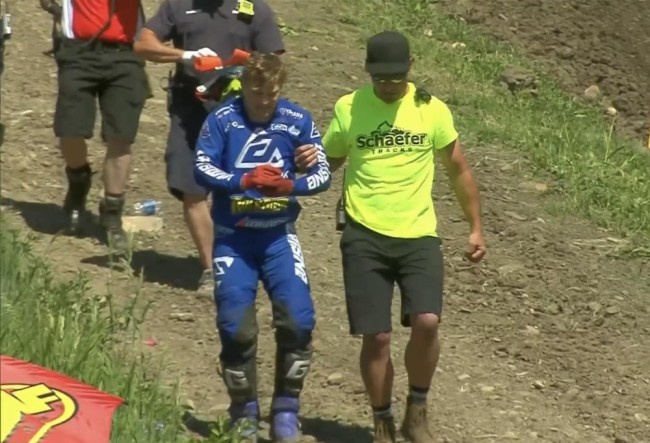 Injured Alex Martin out of Colorado