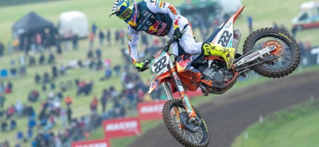 Cairoli on his British MXGP victory