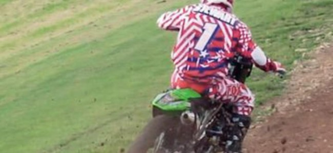 Video: Stewart, Villopoto and Ferry practice in the UK before the 2008 MXDN
