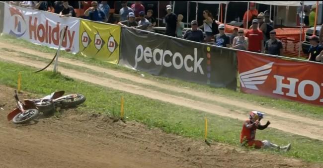 Video: Webb's Millville crash