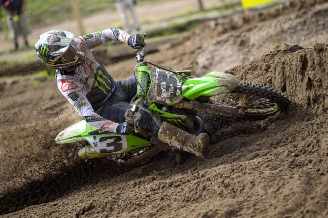 Even Tomac doesn't know what is going on in moto one!