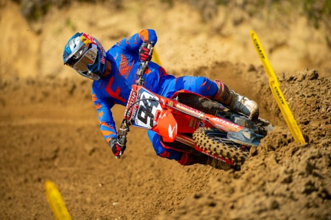 Roczen, Sexton and the Lawrence brothers on Millville