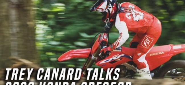Canard on the 2022 Honda CRF250r