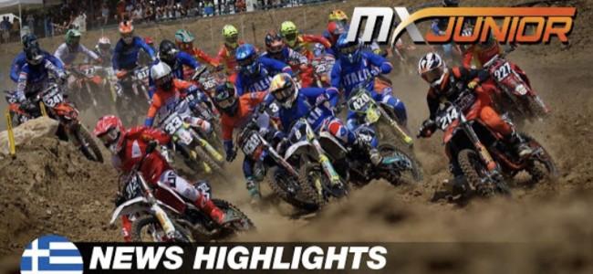 Video: Junior World Motocross Championship highlights