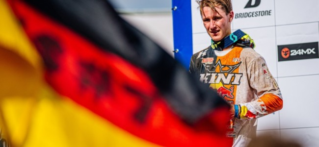 Marnique Appelt on taking his first moto win in Germany and racing MX2
