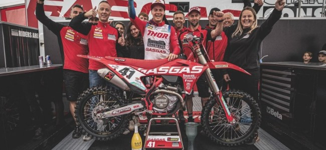 Jonass grabs first MXGP podium with GasGas: Confidence boost