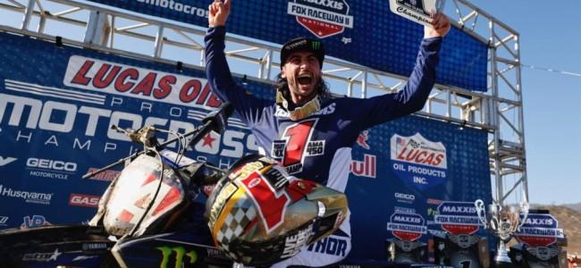 Ferrandis on his 450 US MX title!