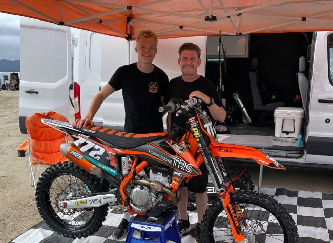 Interview: Brent Norman on helping Rick Elzinga to get to America and race an AMA National