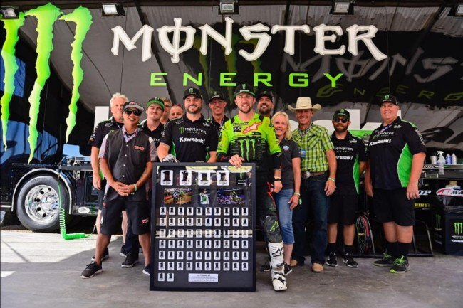 Tomac on his final race win for Kawasaki with his long-time mechanic plus his future