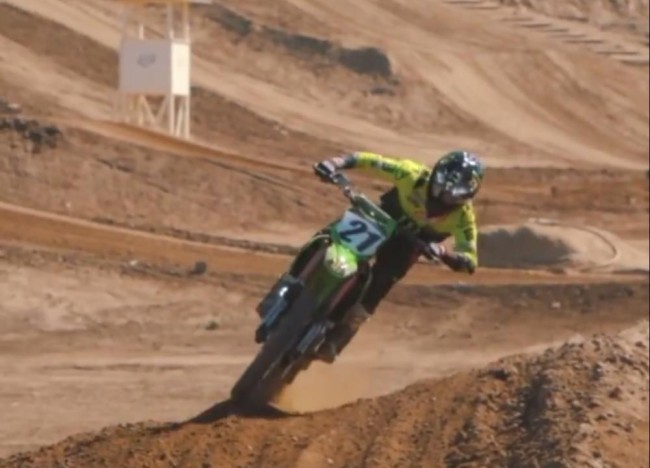 Video: Jason Anderson on the Kawasaki