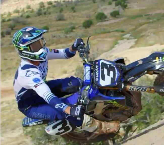 Video: Eli Tomac on the Yamaha!