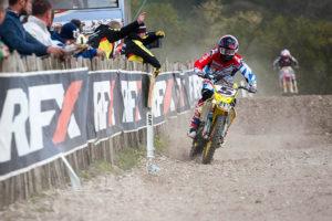 Irwin made the podium at Foxhill. Pic: Suzuki PR
