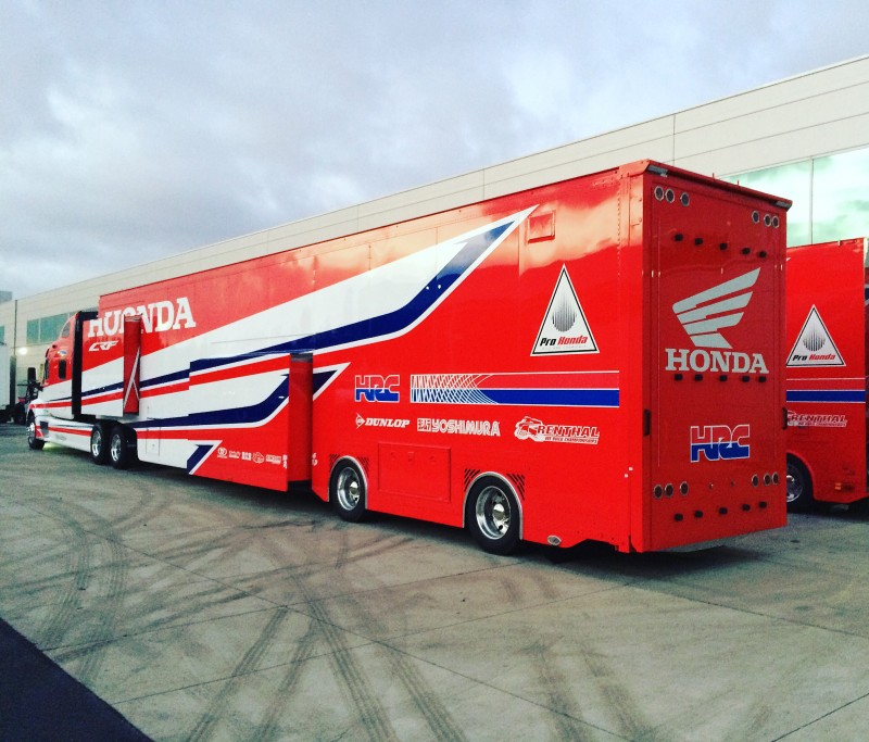 Hrc Honda Ready For Supercross Gatedropcom